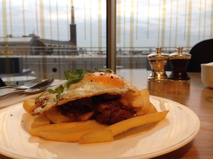 Majestueus ontbijten bij steakhouse Mr Porter